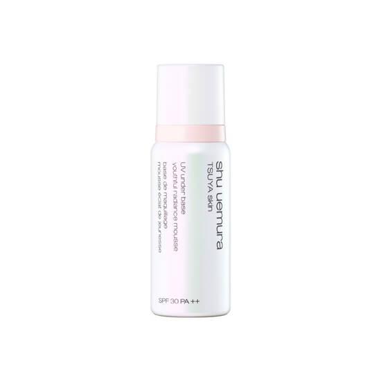 TSUYA skin UV under base youthful radiance mousse
