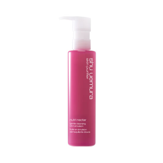 nutri:nectar gentle cleansing oil in emulsion shu uemura